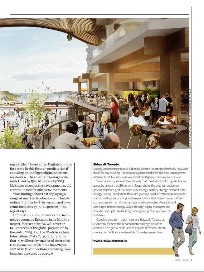 Smart cities edge magazine