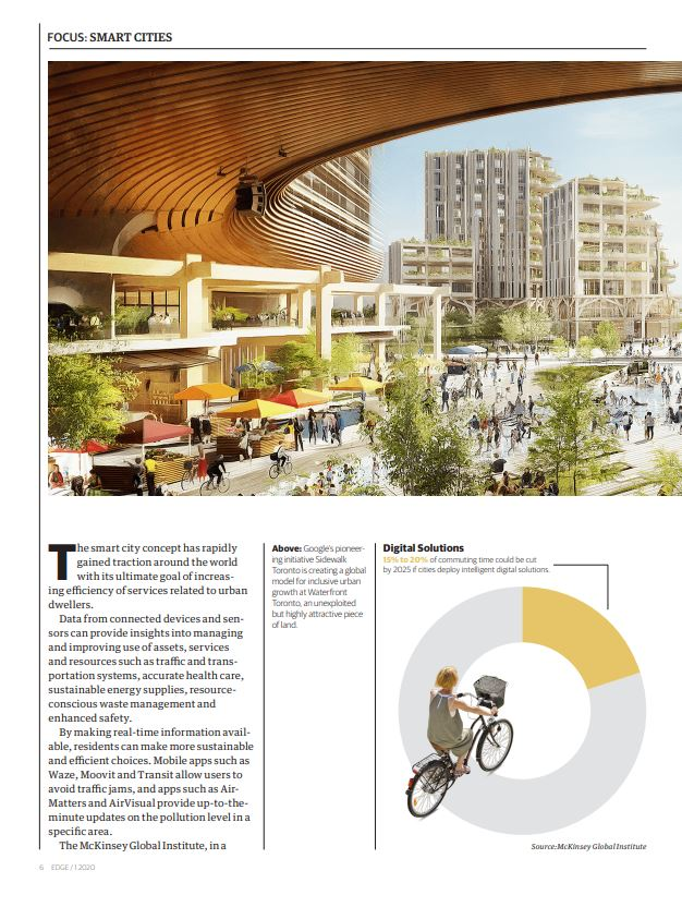 Mart cities Edge Magasine p1